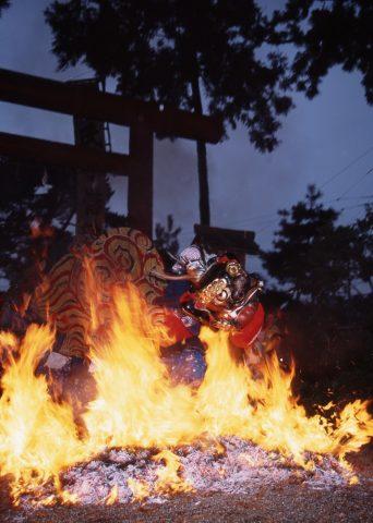 櫛田神社秋季例大祭(火渡り神事)の画像