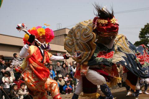 (2020年度中止)赤井の親子獅子舞(射水市指定無形民俗文化財)の画像