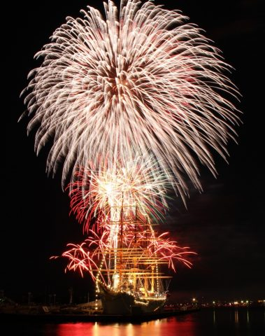 第54回富山新港花火大会の画像